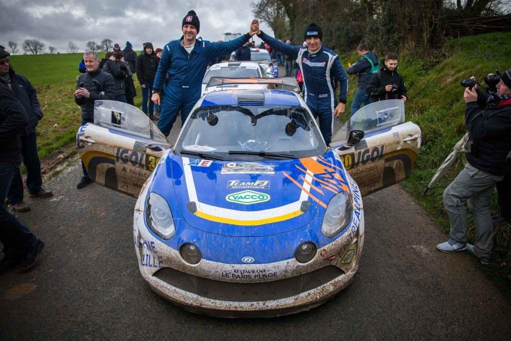 Alpine A110 Rally Team FJ François Delecour Touquet 2020 3 | Alpine A110 Rally: François Delecour et le Team FJ, le duo gagnant