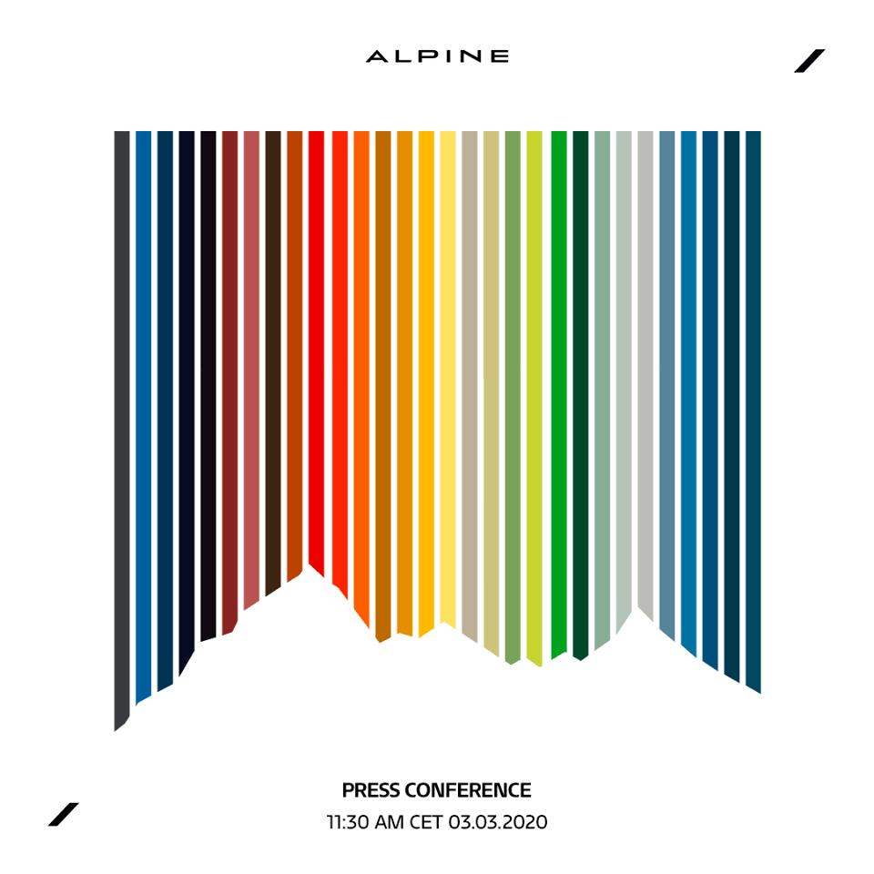 Alpine nous en fait voir de toutes les couleurs GIMS 2020   Alpine A110: Elle va nous en faire voir de toutes les couleurs !