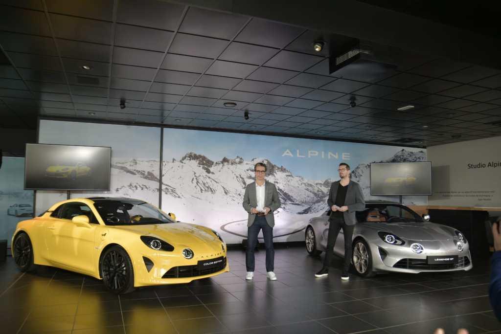 Conférence presse Alpine A110 Légende GT 2020 | Alpine A110 Légende GT: édition limitée à 400 exemplaires