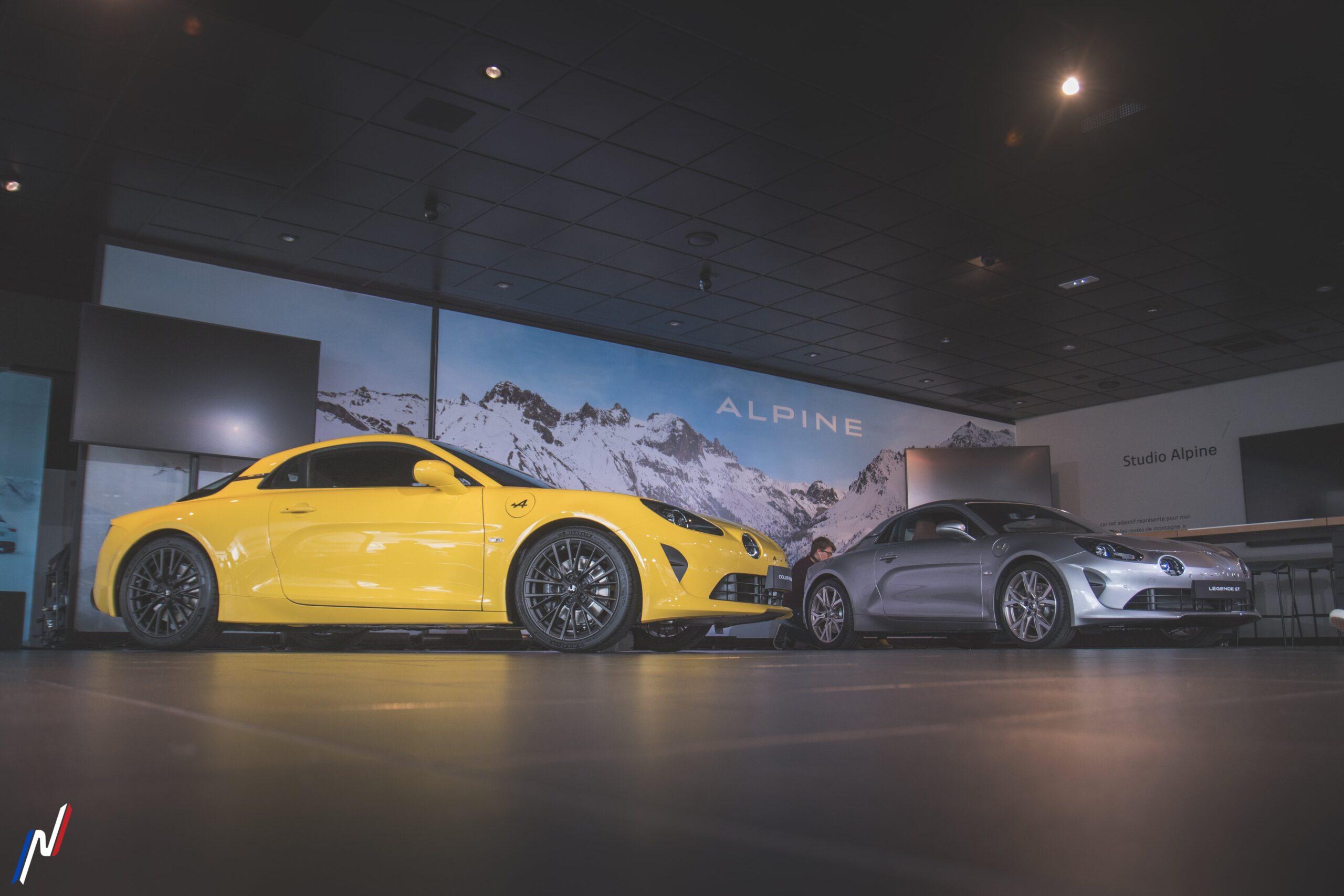 Alpine A110S et Légende GT