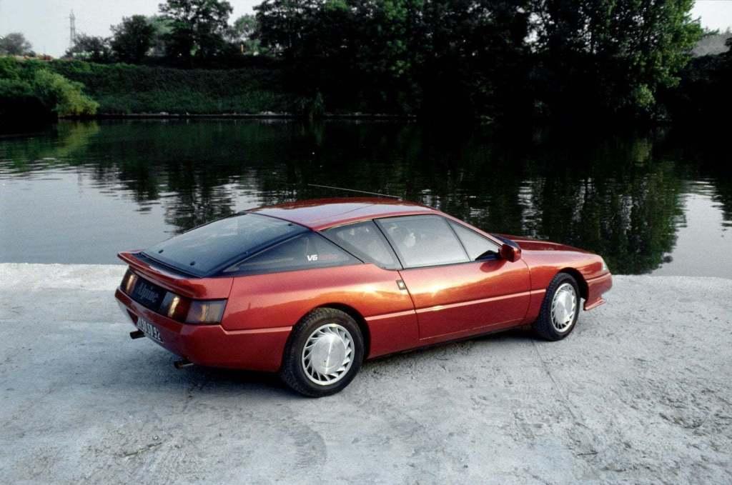 Alpine GTA V6 Turbo Mille Miles 1989