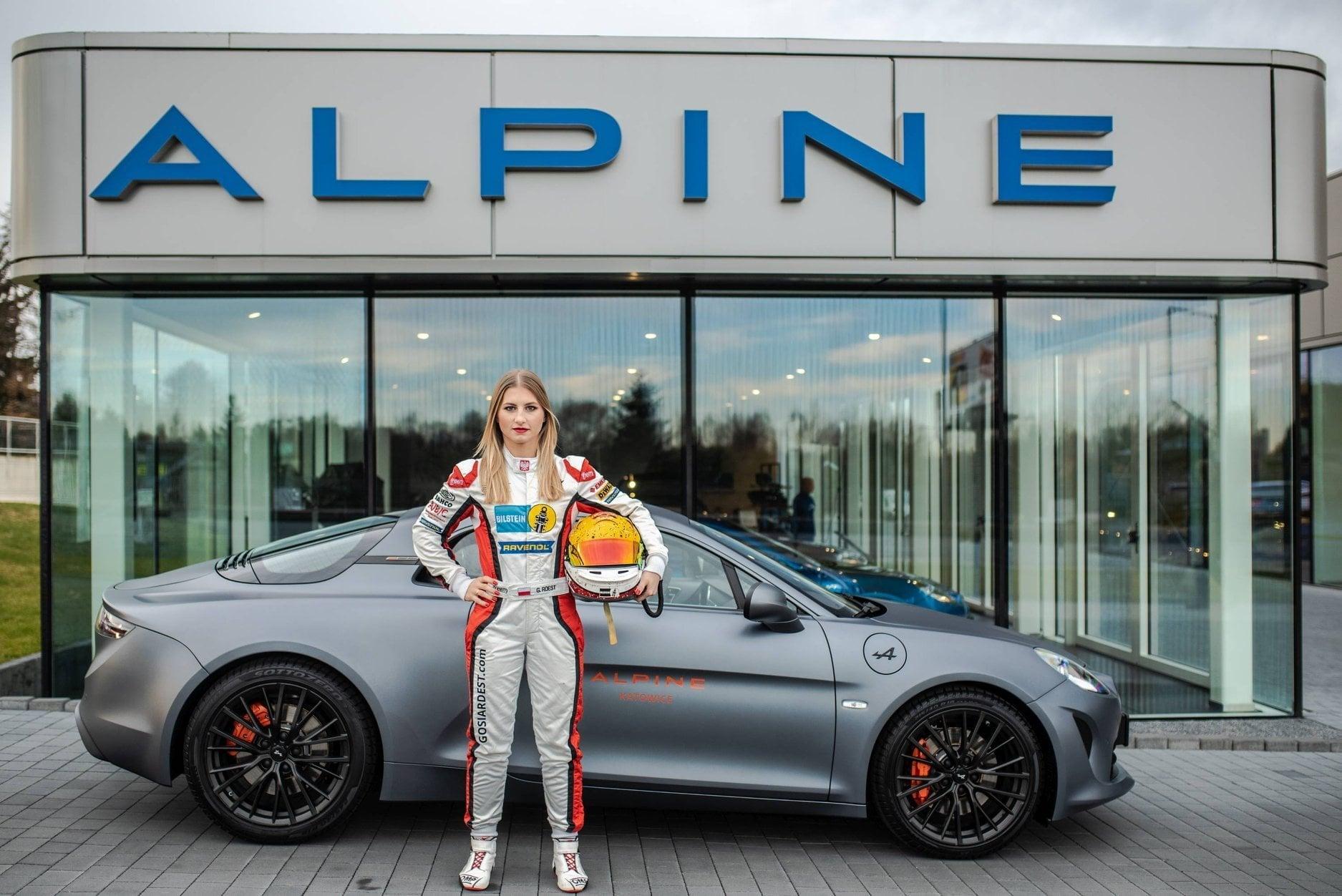 Alpine A110 Cup Elf Europa Gosia Rest Katowice 2020 (7)
