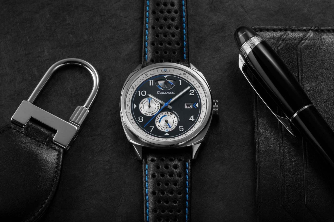 Depancel AUTO110 Close Up 11 | Depancel AUTO RS: l'inspiration bleue