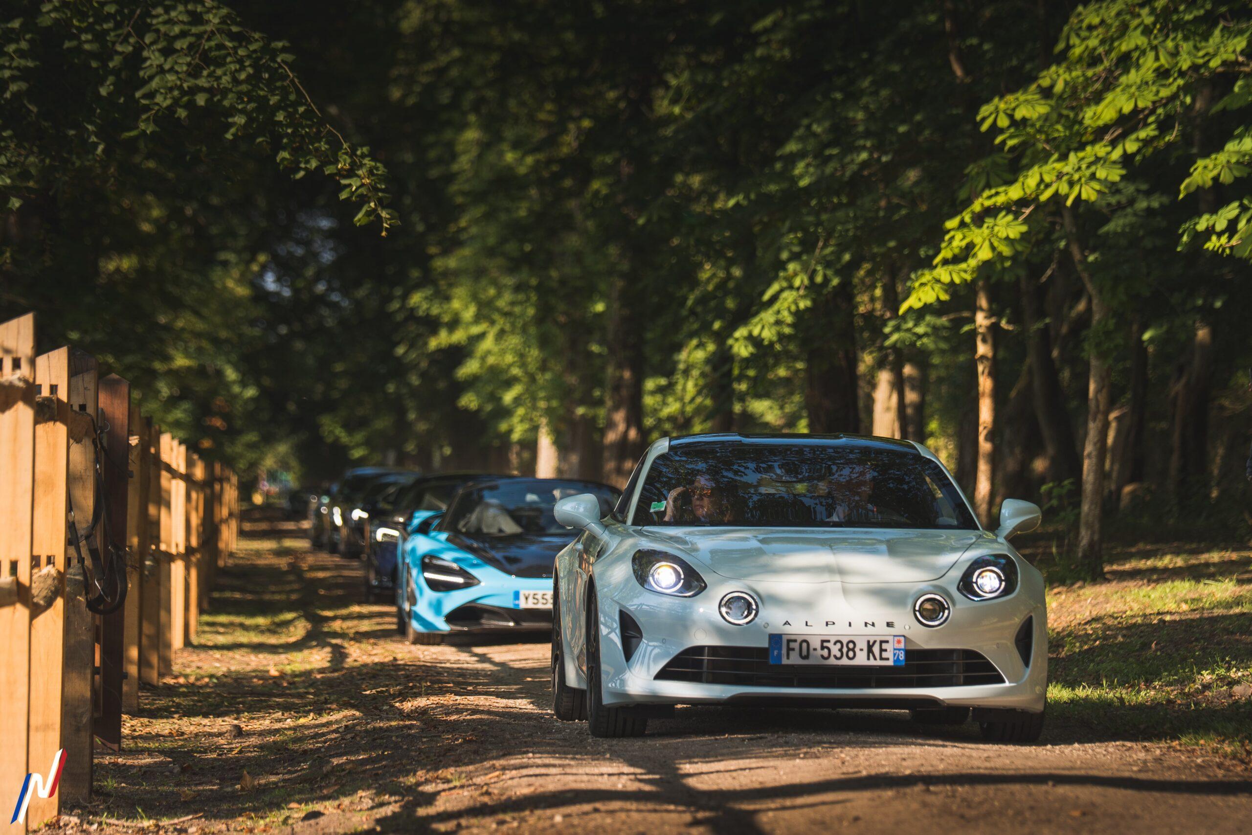 Le Rallye du Cœur Alpine A110