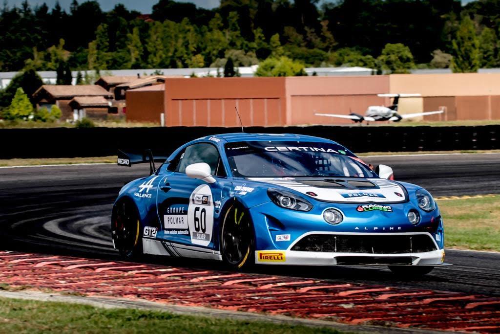 Alpine A110 GT4 Paul Evrard Nogaro 2020   FFSA GT 2020: sept Alpine A110 GT4 engagées à Nogaro !