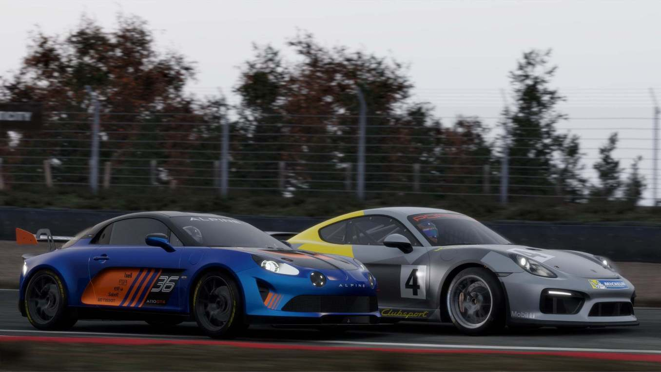 Alpine A110 GT4 Project cars 3 2020   Project Cars 3: Alpine A110S et GT4 au programme