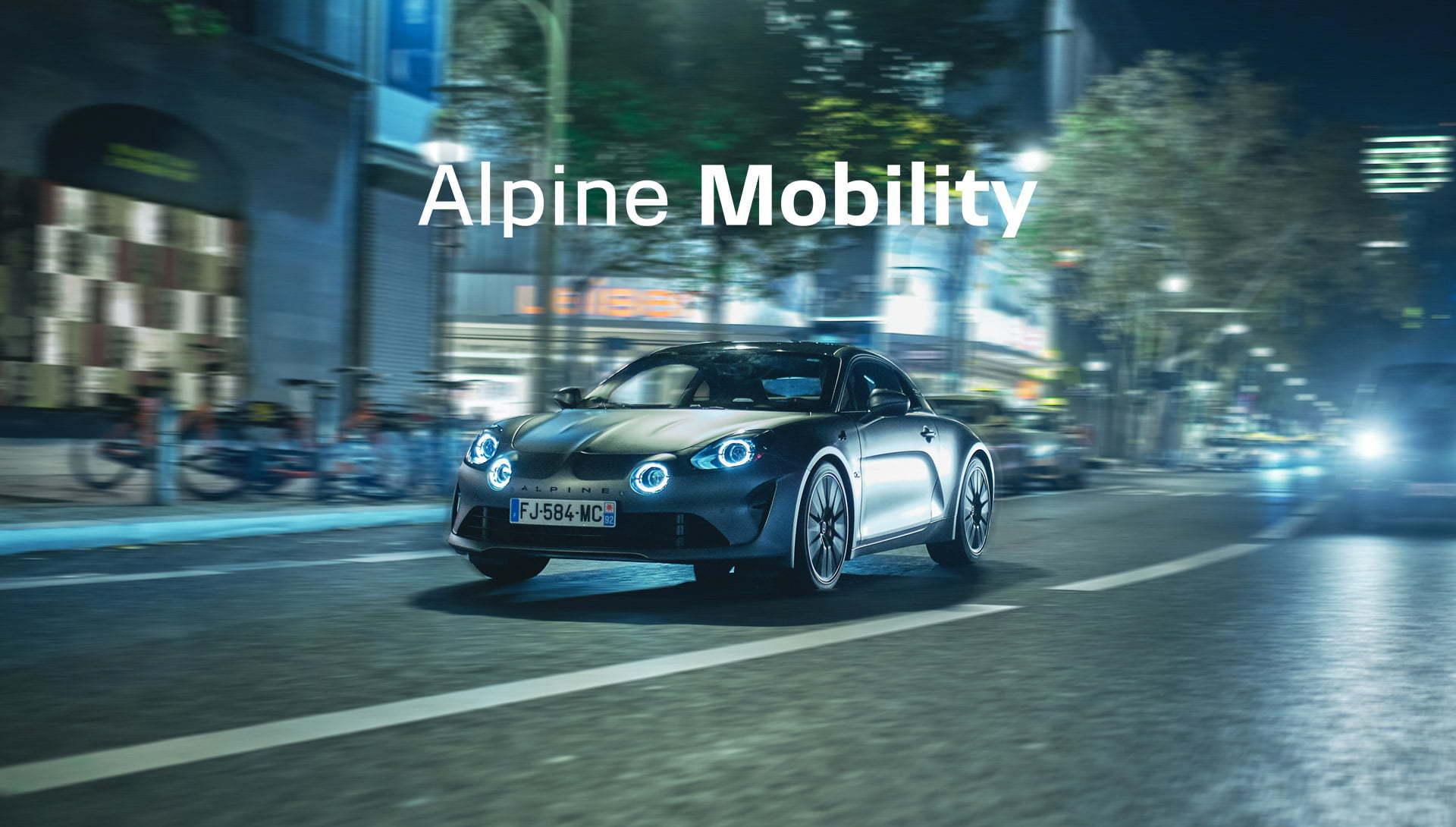 Alpine mobility A110 location courte durée