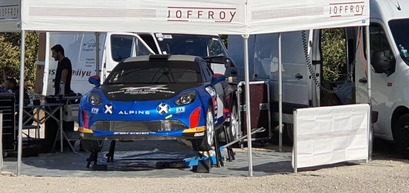 Emmanuel Guigou Alpine A110 Rally RGT 10   Alpine A110 RALLY: le Rallye Mont-Blanc Morzine 2020