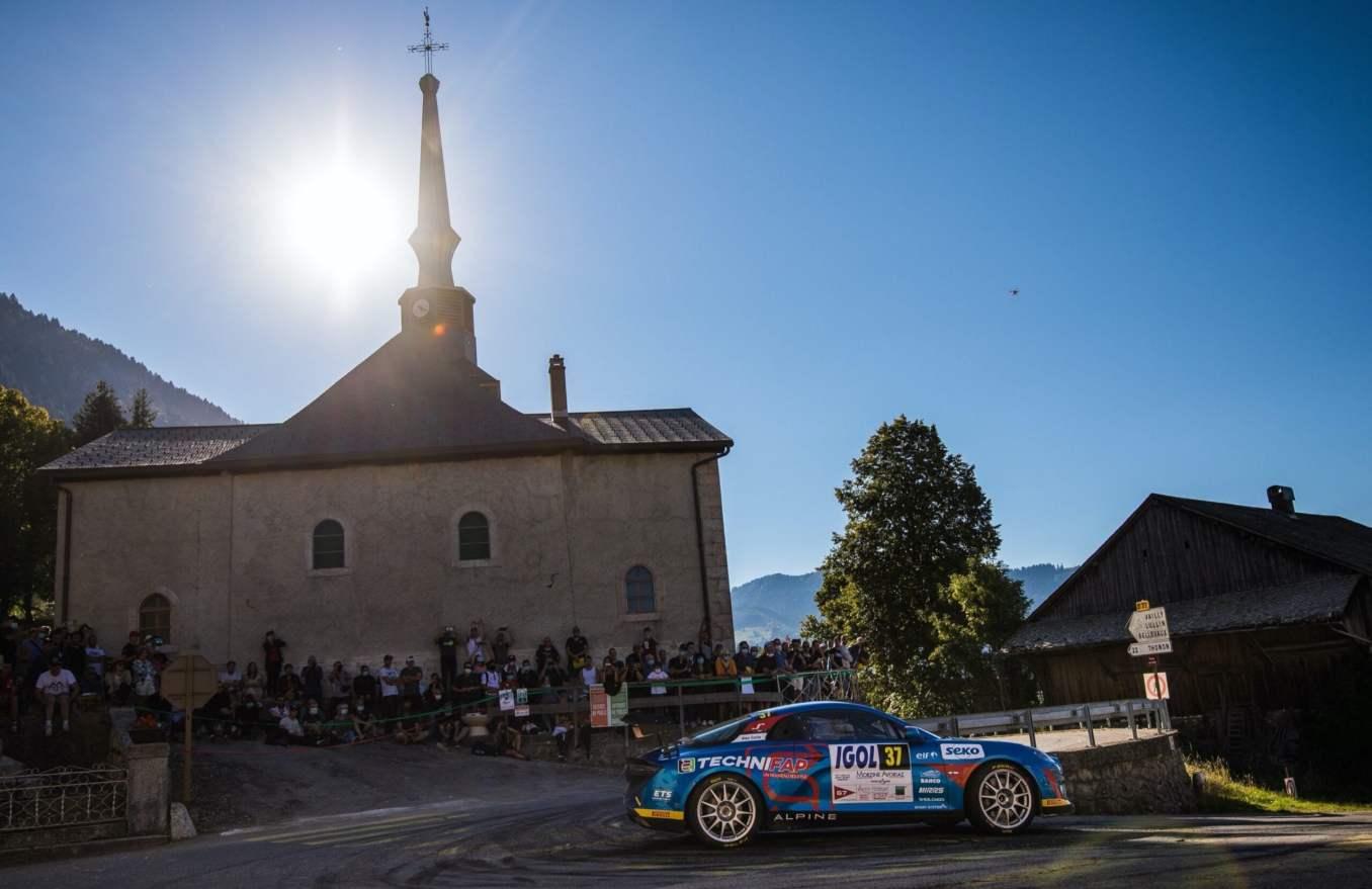 Alpine A110 Rally CHampionnat de France Manu Guigou 1 scaled   Trophée Alpine Elf Rally de retour en 2021