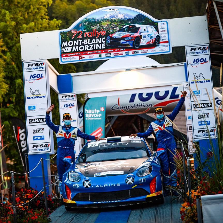 Alpine A110 Rally CHampionnat de France Manu Guigou 2 | Alpine A110 Rally : Manu Guigou favori au Rallye Cœur de France 2020