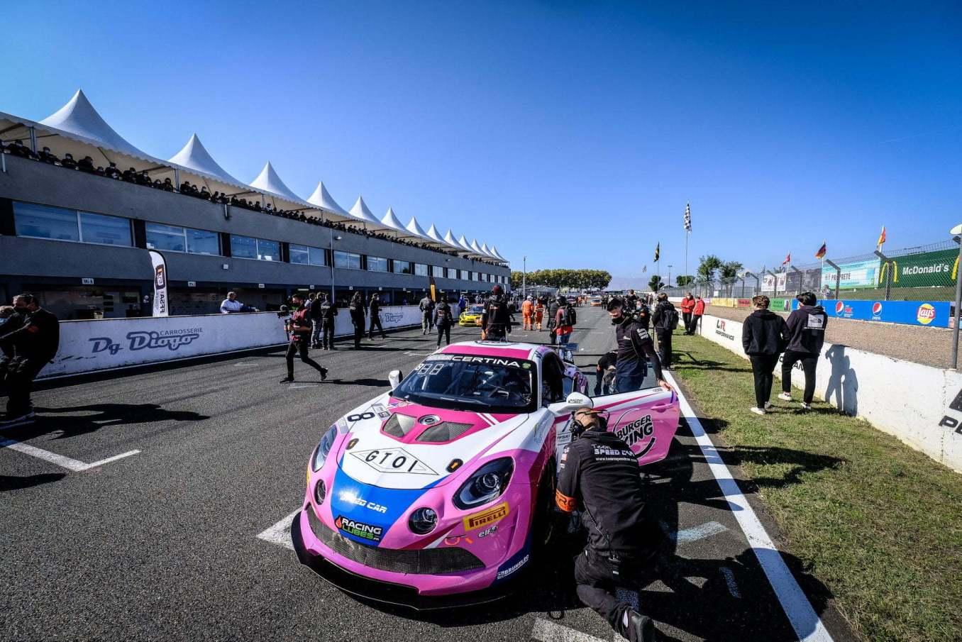 Alpine A110 GT4 FFSA GT 2020 Albi 26   Alpine A110 GT4 : le plein de points à Albi pour la 1ère course !