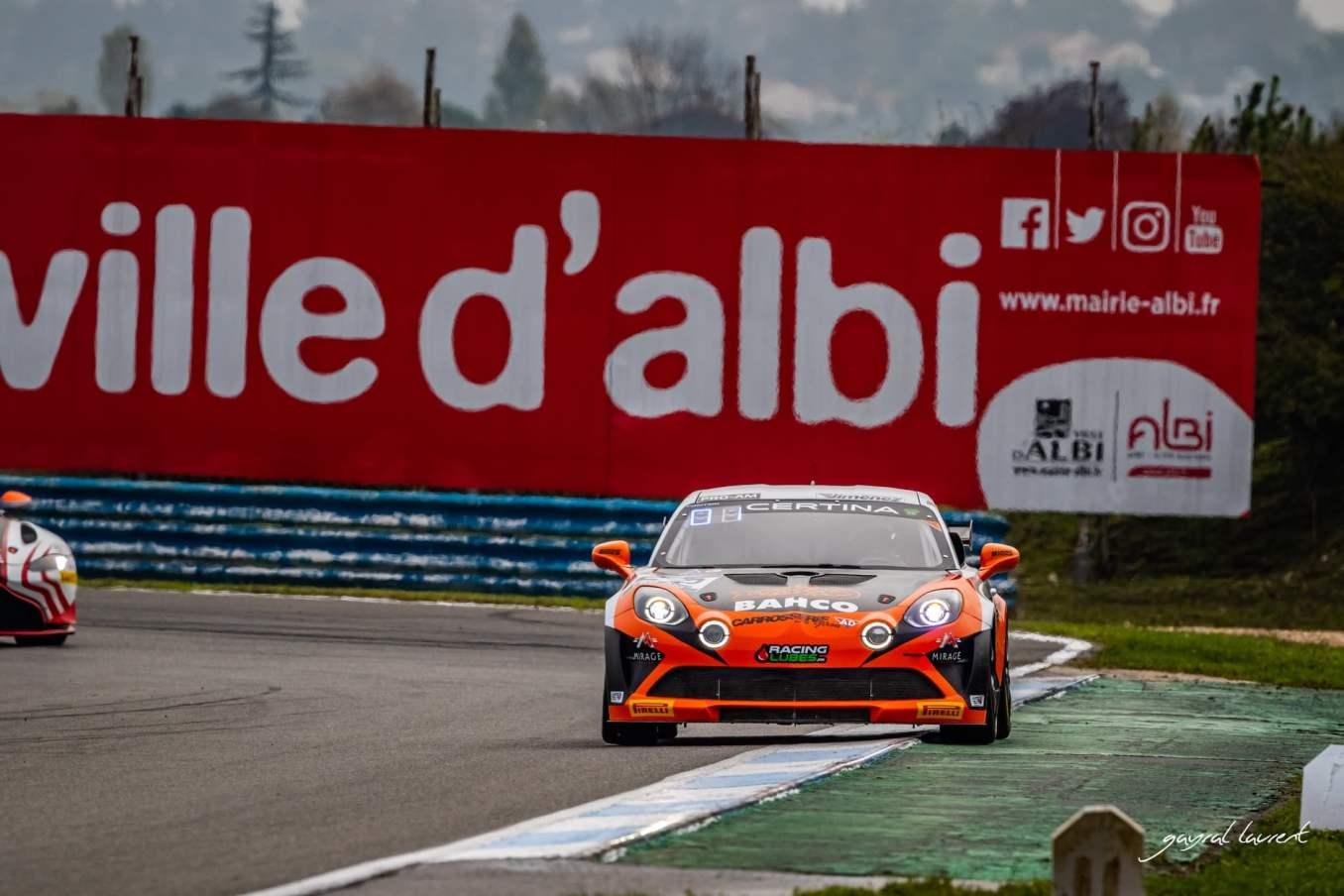 Alpine A110 GT4 FFSA GT 2020 Albi 28   Alpine A110 GT4 : le plein de points à Albi pour la 1ère course !
