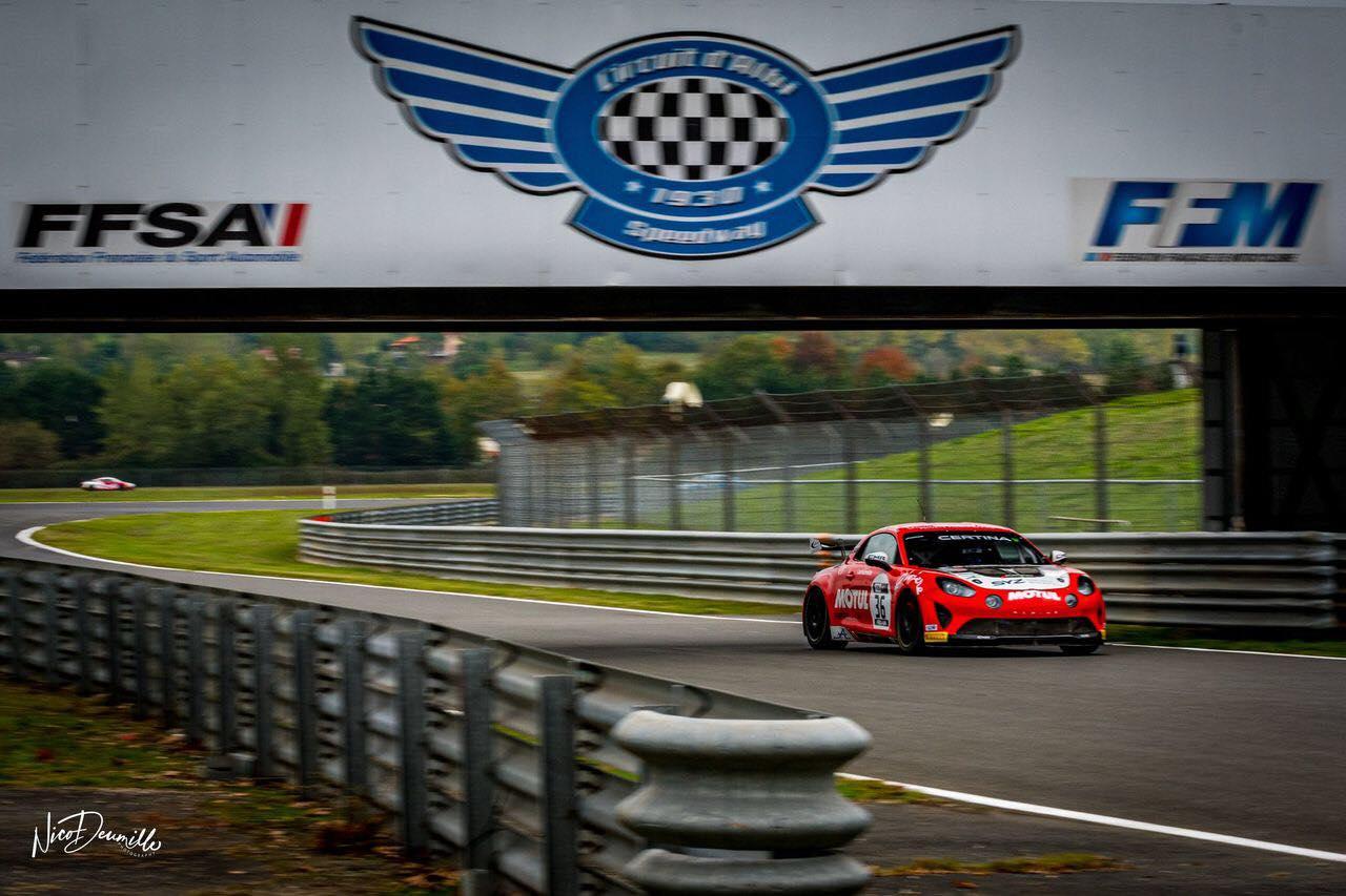 Alpine A110 GT4 FFSA GT 2020 Albi 6   Alpine A110 GT4 : le plein de points à Albi pour la 1ère course !