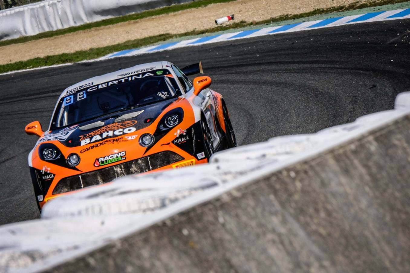 Alpine A110 GT4 FFSA GT 2020 Albi Course 2 7 | Alpine A110 GT4 : Herrero et Moullin-Traffort performent à Albi !