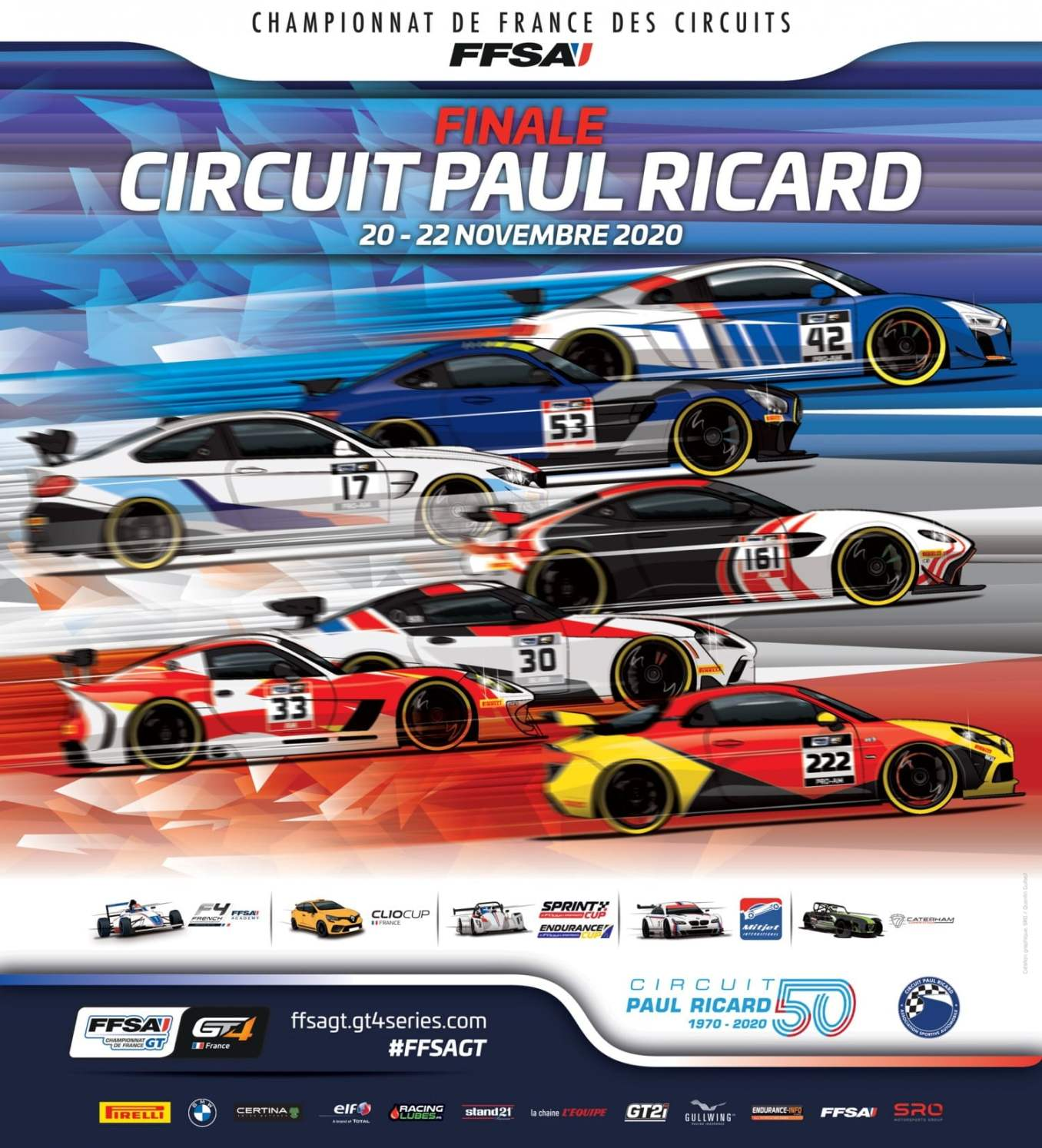 Alpine A110 GT4 FFSA Paul Ricard finale 2020 | Alpine A110 GT4 : la finale FFSA GT au Circuit Paul Ricard