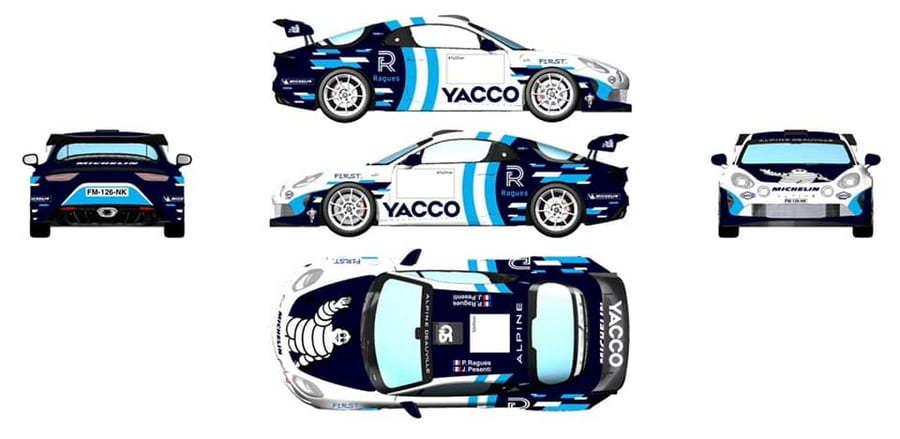 Alpine A110 RGT Pierre Ragues WRC Monza 2020 1 | WRC : Pierre Ragues au volant de l'A110 RGT au Rallye de Monza 2020