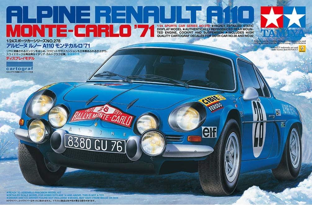 Alpine A110 Tamiya 4   30 idées de cadeaux de Noël pour les passionnés d'Alpine