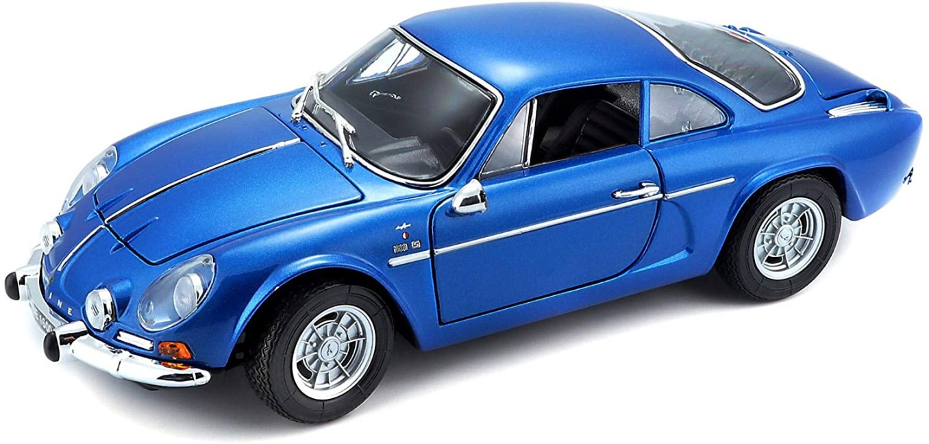 Bburago Maisto France Voiture Miniature Alpine Renault 1600 S Stradale 1971 3   30 idées de cadeaux de Noël pour les passionnés d'Alpine