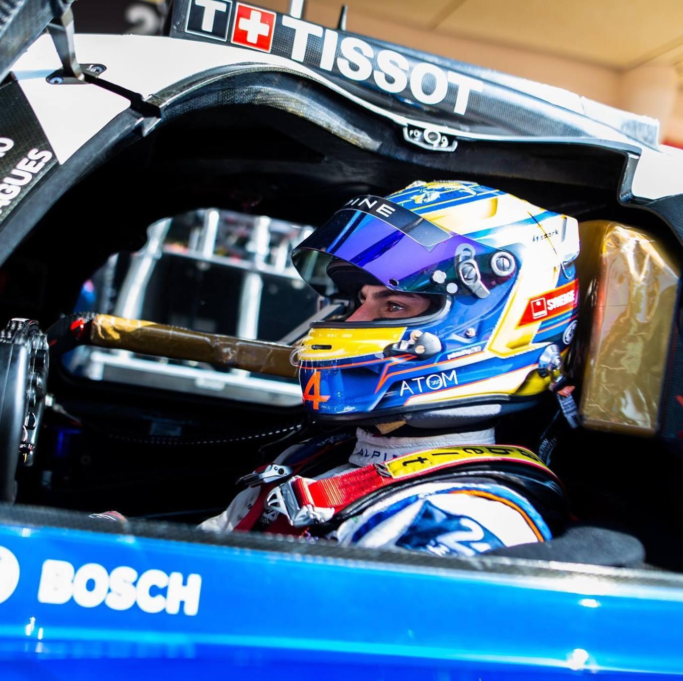 Signatech Alpine A470 Laurent Ragues Negrao Bahrein WEC 2020 LMP2 19 | Signatech Alpine atteint la 5ème place à Bahreïn