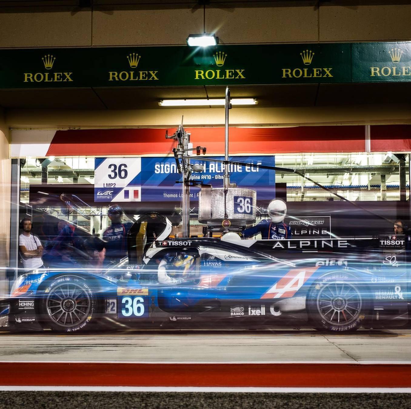 Signatech Alpine A470 Laurent Ragues Negrao Bahreïn WEC 2020 LMP2 - 2