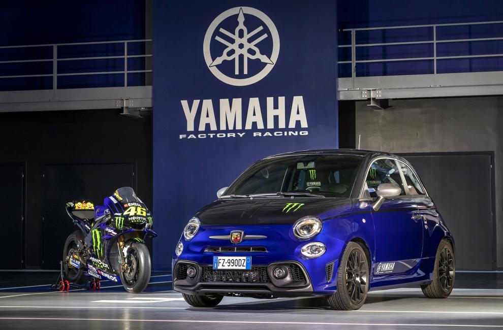 Abarth 595 Monster Energy Yamaha | MV Agusta Superveloce Alpine 2020 : le mariage Franco-Italien !