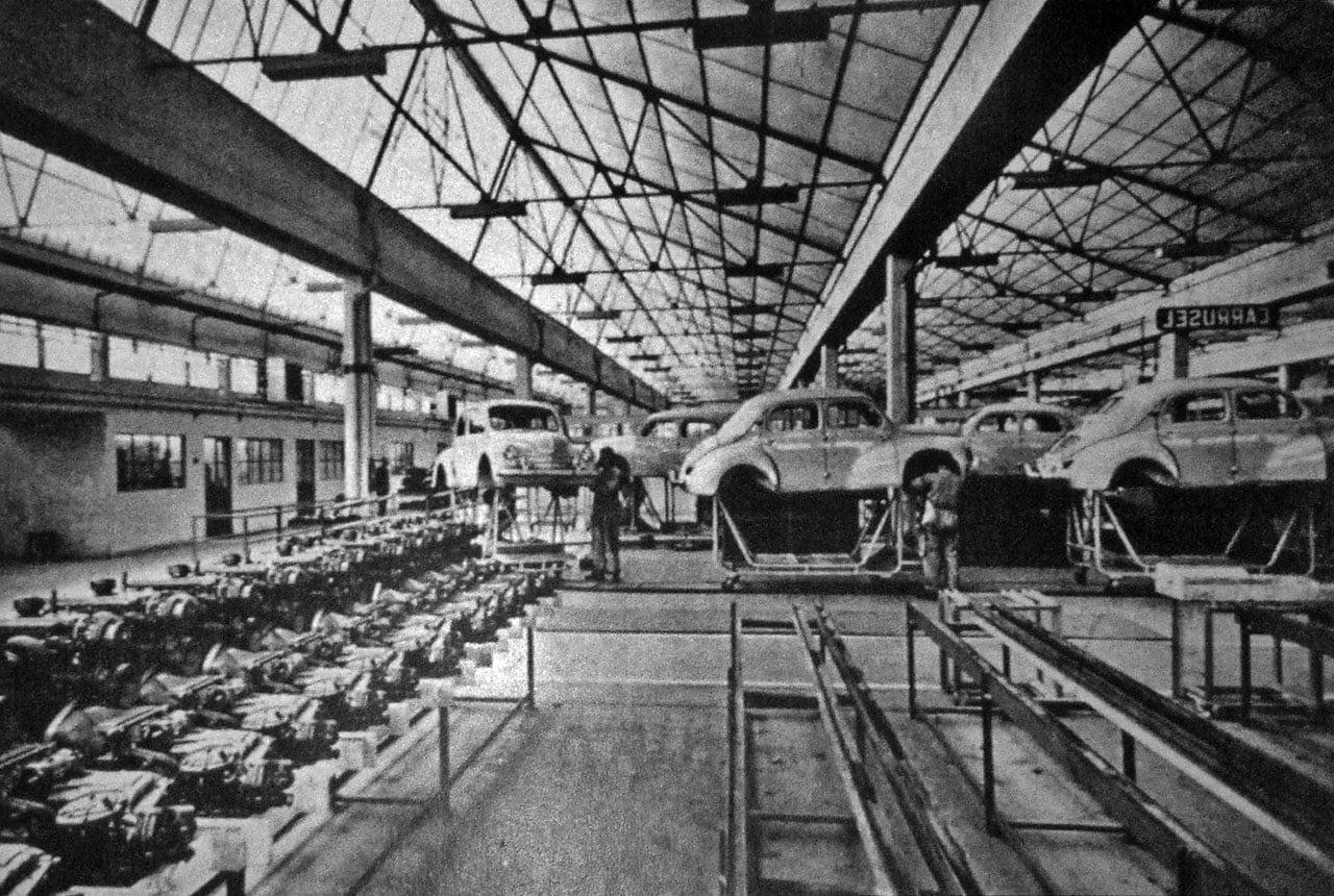 Fasa renault usine 3   FASA Renault Alpine A110 : Amor de España !