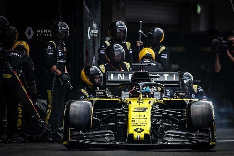 Infiniti Renault F1   Alpine F1 Team : le partenaire Infiniti quitte la F1