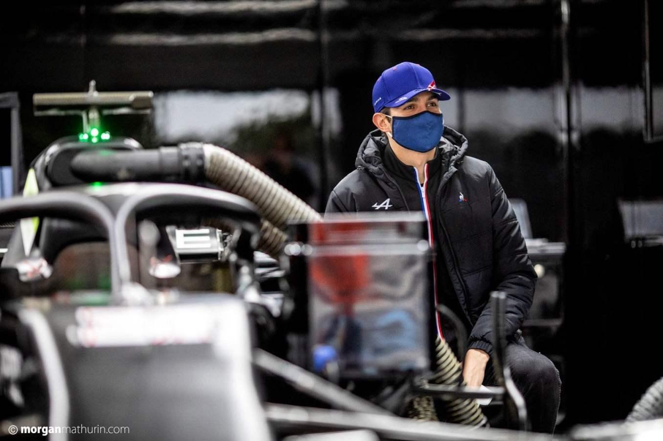 Esteban Ocon Alpine F1 Team