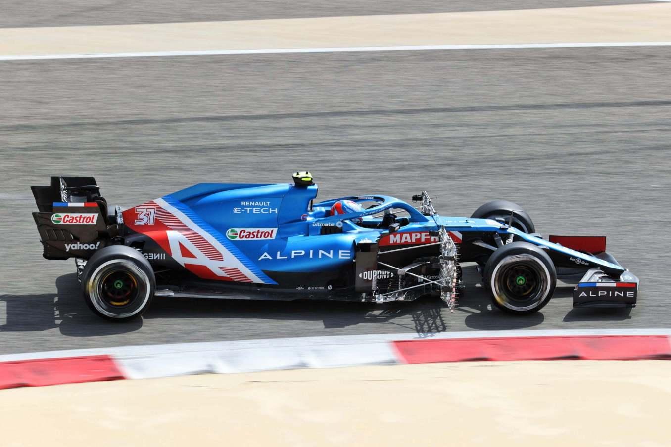 Alpine F1 Team A521 Bahrein test 1 1 scaled   Alpine F1 Team : premier jour des essais à Bahreïn