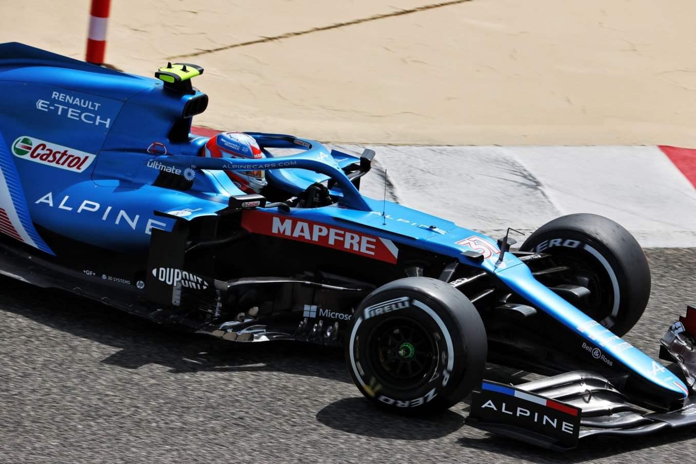 Alpine F1 Team A521 Bahrein test 1 2 scaled   Alpine F1 Team : premier jour des essais à Bahreïn