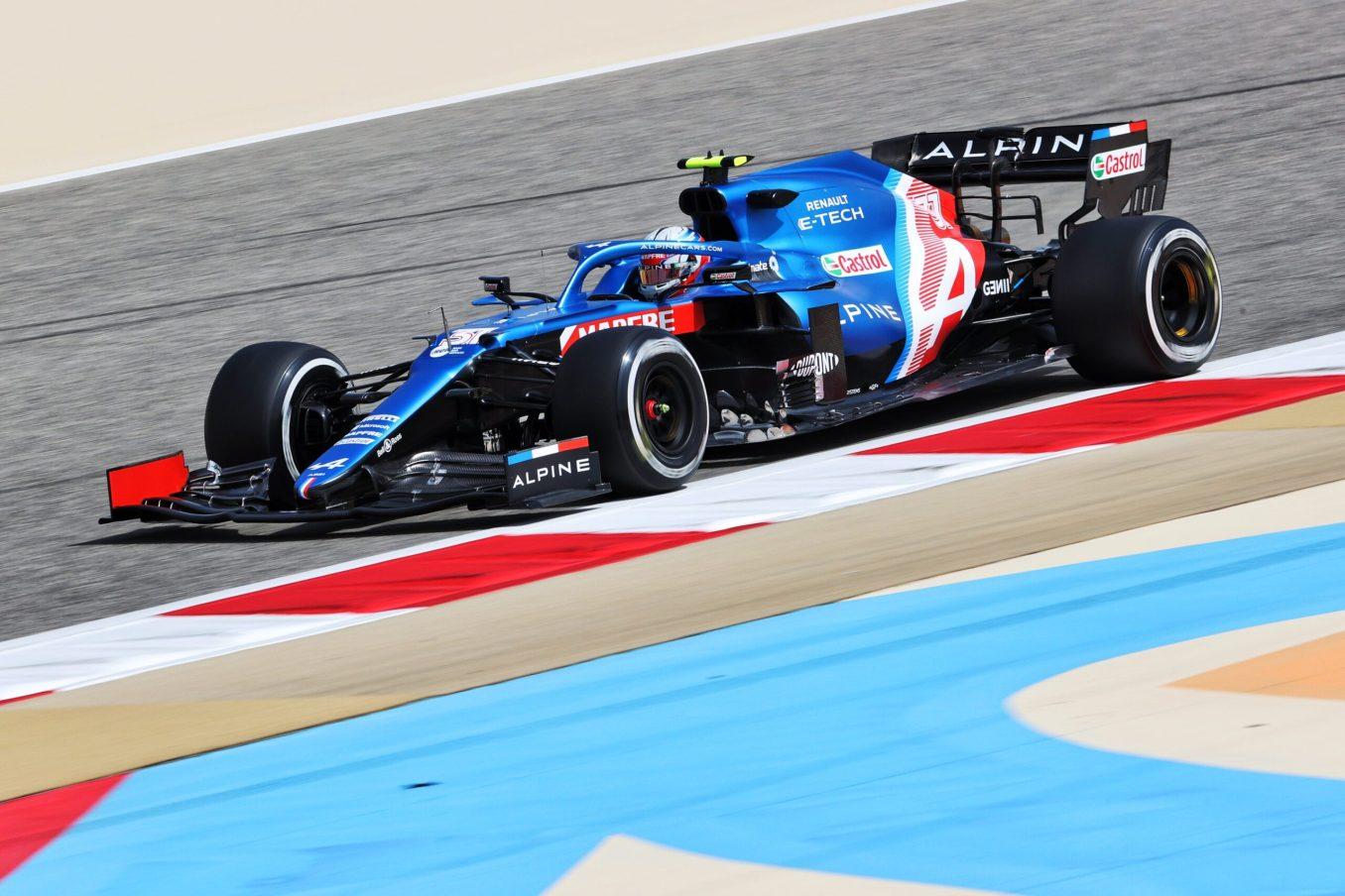 Alpine F1 Team A521 Bahrein test 1 3 scaled   Alpine F1 Team : premier jour des essais à Bahreïn