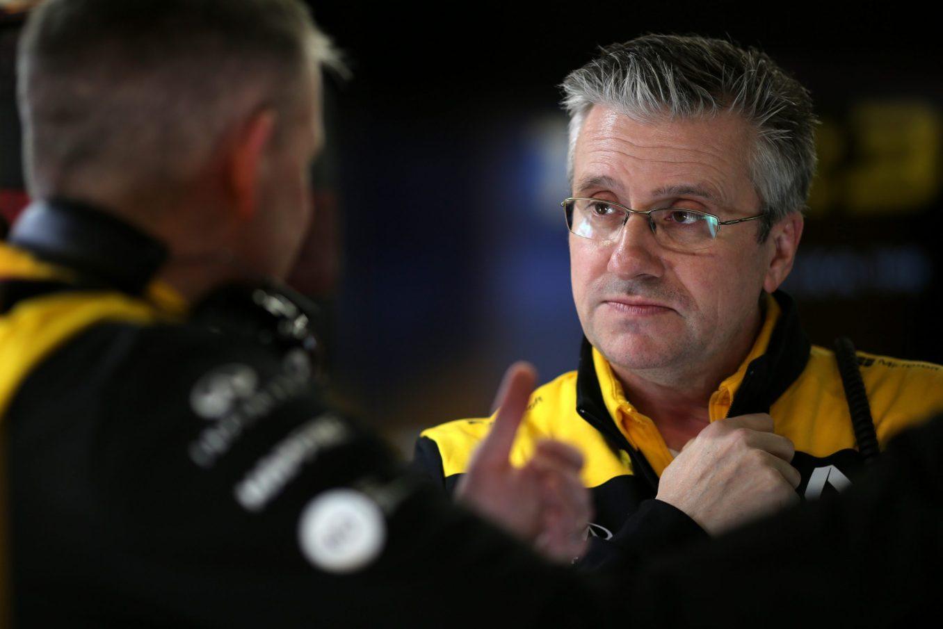 Pat Fry Alpine F1 Team
