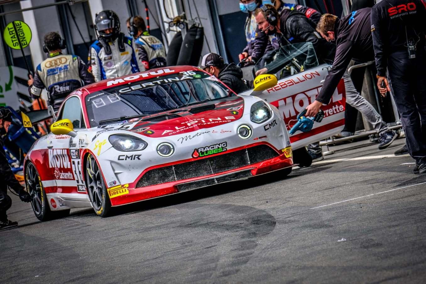 Alpine A110 GT4 Magny Cours FFSA GT 2021 16 | FFSA GT : l'Alpine A110 GT4 dans le Top 3 à la course 1 à Magny-Cours