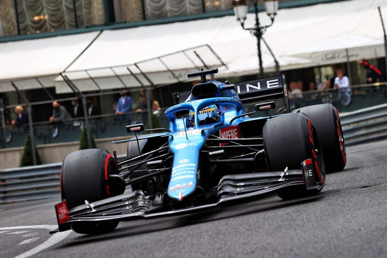 Alpine F1 Qualifications A521 Monaco Alonso Ocon 2021 3 scaled | Alpine F1 inscrit deux points au Grand Prix de Formule 1 de Monaco 2021