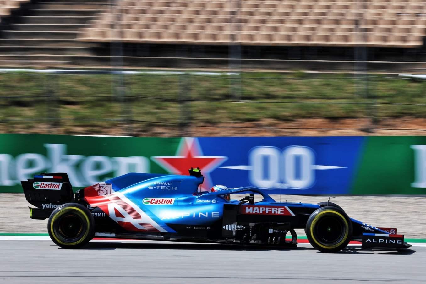 Alpine F1 Team A521 Alonso Ocon Grand Prix Espagne 2021 23 scaled | Alpine F1 Team : des essais libres 1 et 2 encourageants au GP d'Espagne