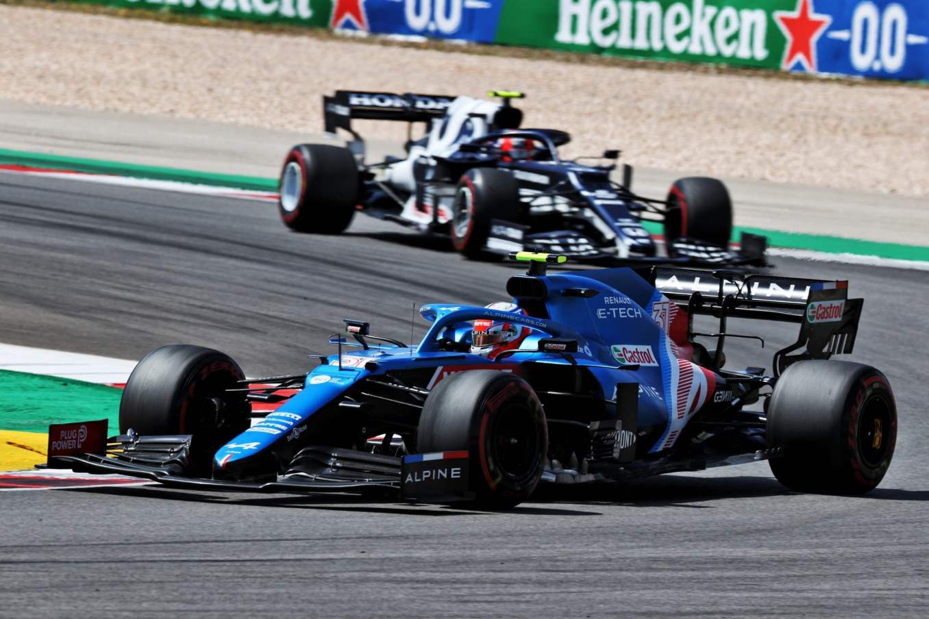 Alpine F1 Team A521 Alonso Ocon Grand Prix Portugal Course 7 scaled | Alpine F1 Team poursuivra sa progression au Grand Prix d'Espagne 2021