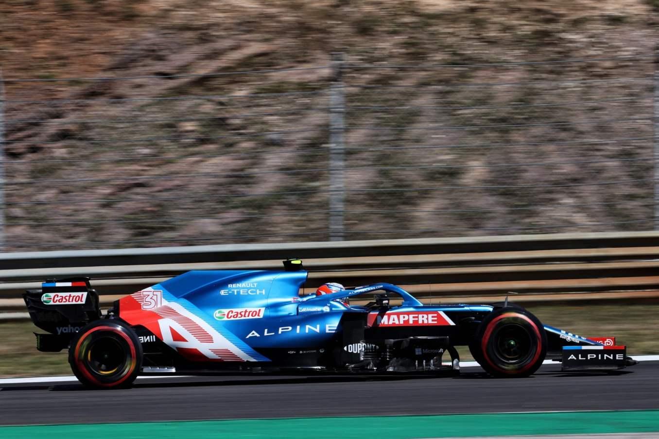 Alpine F1 Team GRAND PRIX HEINEKEN DU PORTUGAL Alonso Ocon 2021 A521 17 scaled   Alpine F1 Team : des essais convaincants au Grand Prix Heineken du Portugal