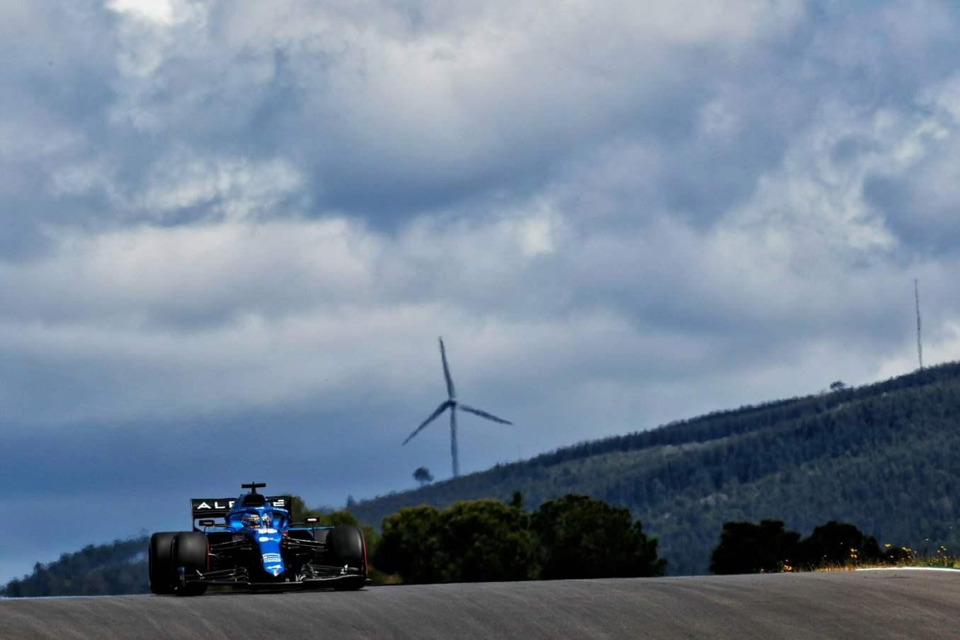 Alpine F1 Team GRAND PRIX HEINEKEN DU PORTUGAL Alonso Ocon 2021 A521 6 scaled   Alpine F1 Team : des essais convaincants au Grand Prix Heineken du Portugal