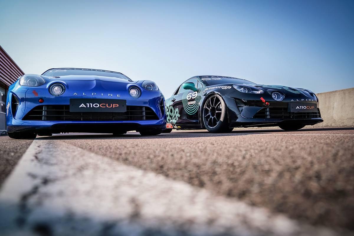 La Piste Bleue 2021 / Alpine A110 Cup