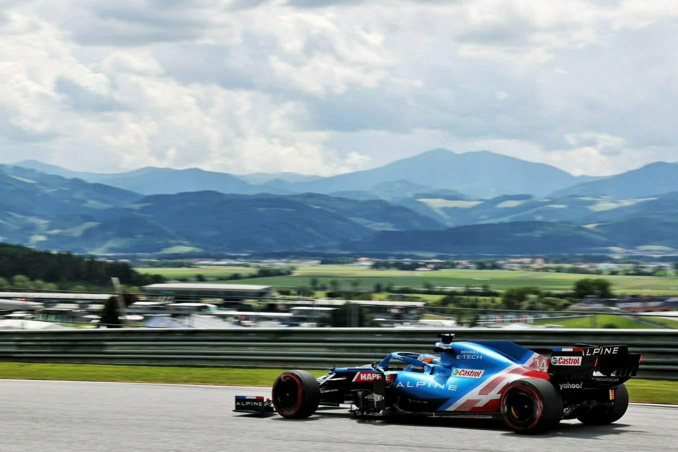 Alpine F1 Team Alonso Ocon Autriche Steiermark Grand Prix Spielberg A521 2021 17 scaled | Alpine F1 : Alonso réitère la Q3 et Ocon trébuche en Q1 à Spielberg
