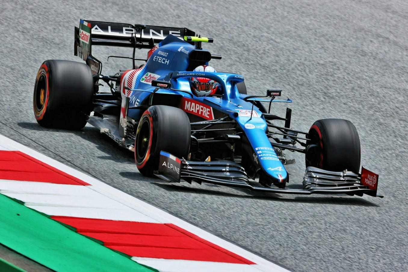Alpine F1 Team Alonso Ocon Autriche Steiermark Grand Prix Spielberg A521 2021 20 scaled | Alpine F1 : Alonso réitère la Q3 et Ocon trébuche en Q1 à Spielberg