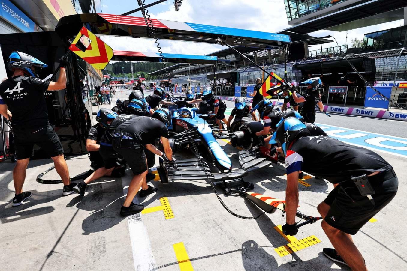 Alpine F1 Team Alonso Ocon Autriche Steiermark Grand Prix Spielberg A521 2021 23 scaled | Alpine F1 : Alonso réitère la Q3 et Ocon trébuche en Q1 à Spielberg