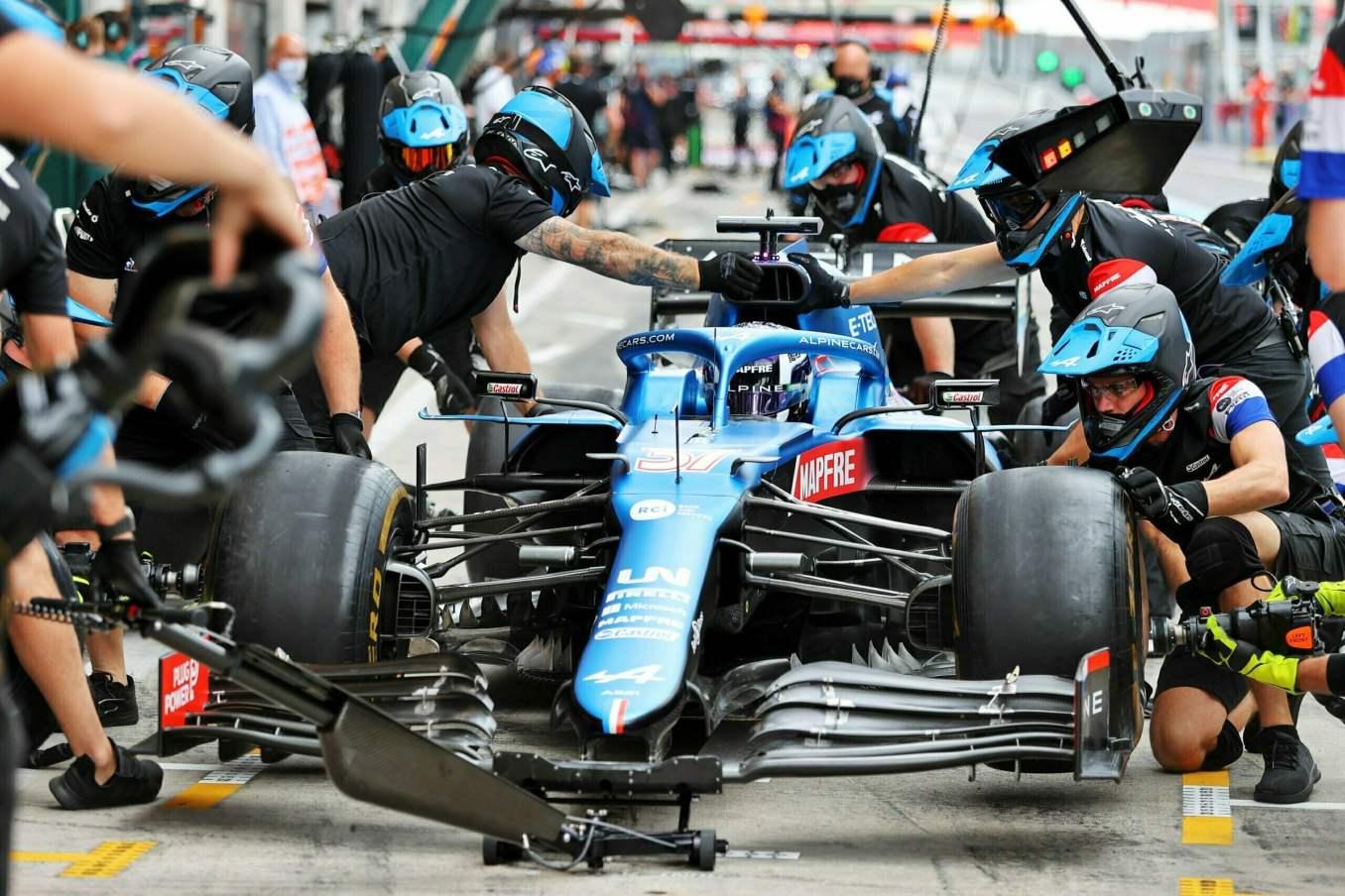 Alpine F1 Alonso Ocon A521 GP Autriche Spielberg 2021 25 scaled | Alpine F1 : Alonso rapporte un point au Grand-Prix d'Autriche