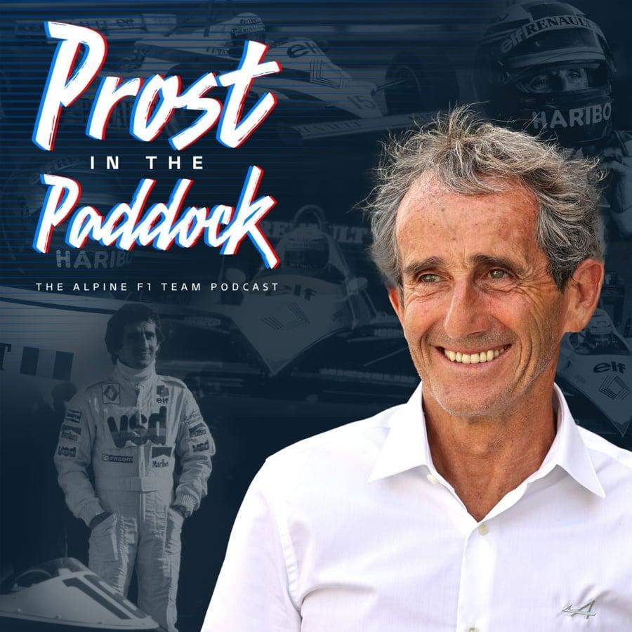 Alpine F1 Team Alain Prost