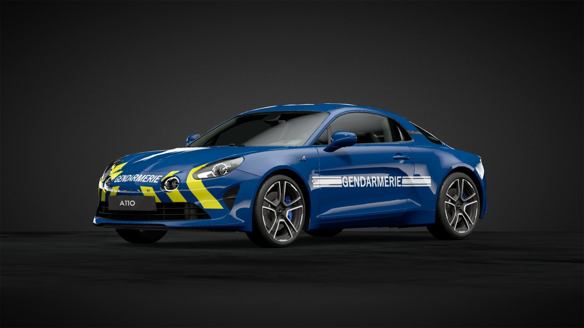 Alpine A110 Gendarmerie 2021