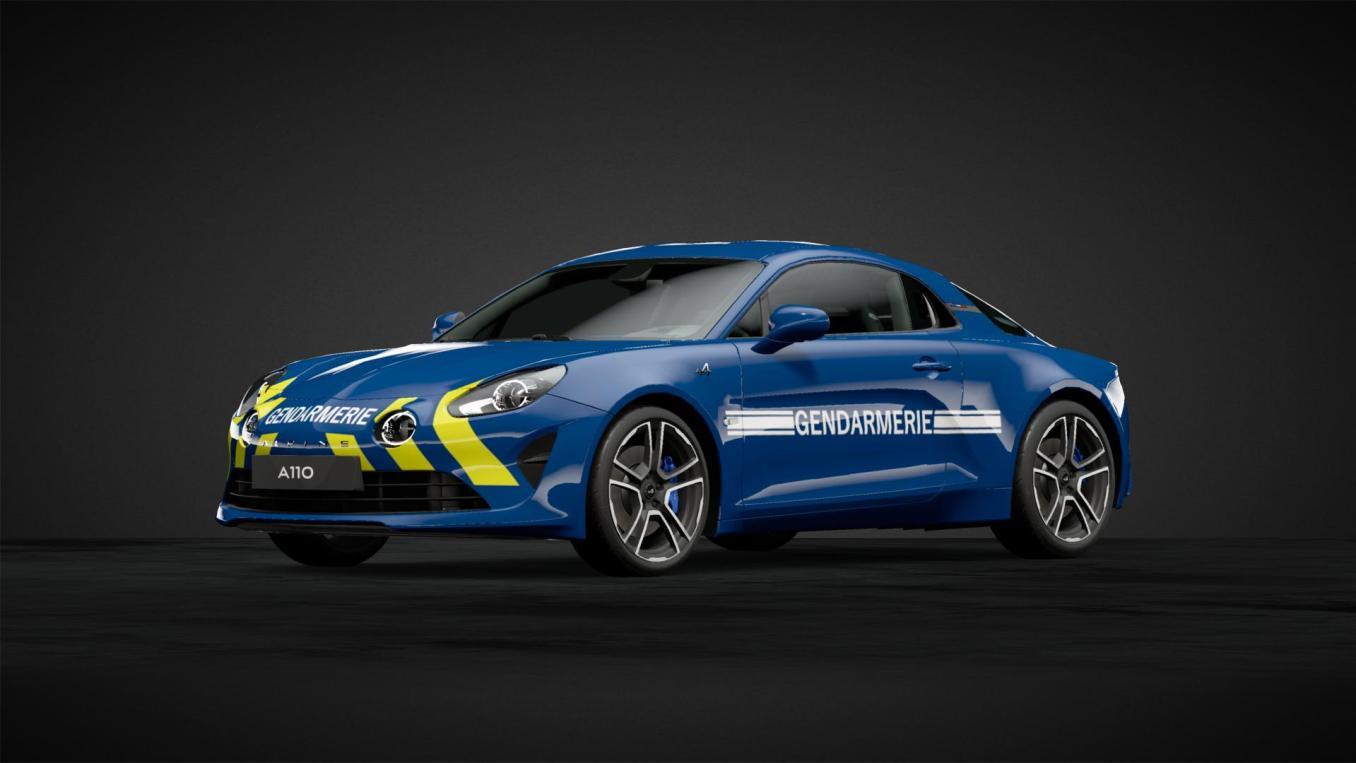 Alpine A110 Gendarmerie | Alpine A110 Gendarmerie, la rumeur se précise en 2021 !