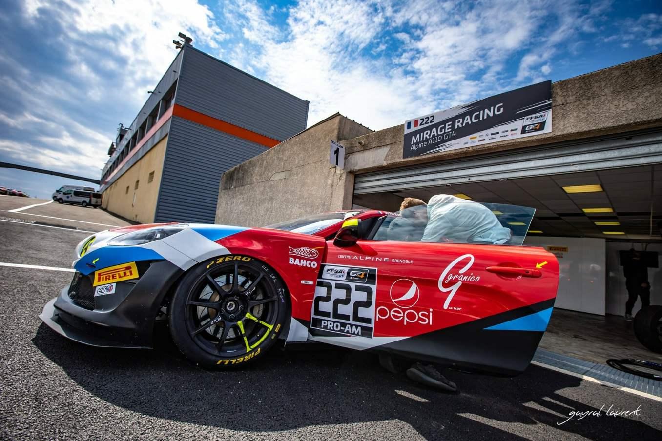 FFSA GT4 Alpine A110 Prost Redele Servol Ledenon 2021 12 | FFSA GT : Les duos Rédélé - Coubard et Ferté - Demoustier en P2 dans leurs catégories respectives à Lédenon