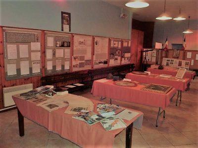 L'exposition «Nos poilus pendant la grande guerre»