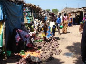 Le marché de Badinko