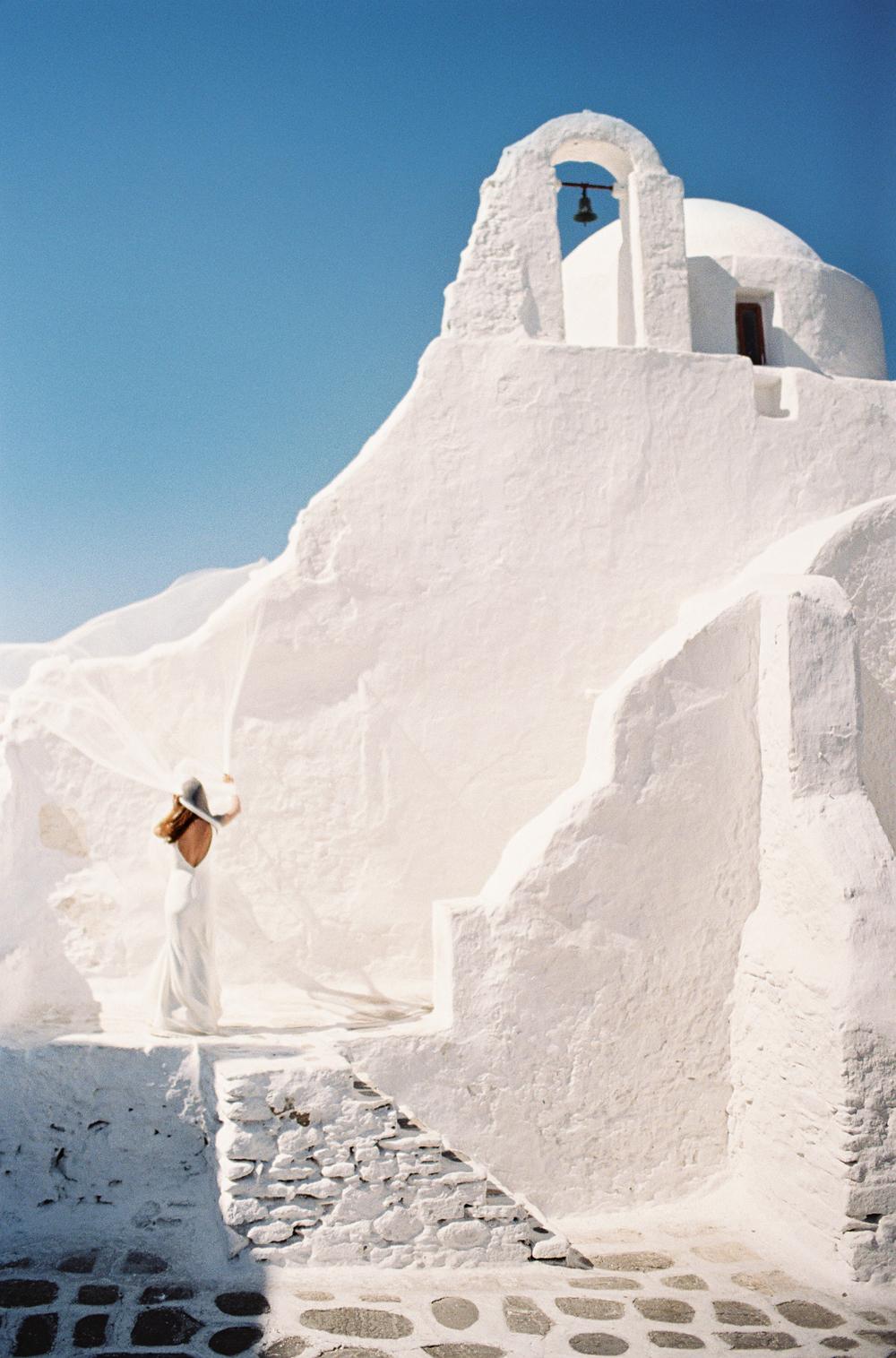 Mykonos Couples Session Greece Wedding Inspiration Les